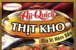 Ajnomoto Việt Nam ra mắt sản phẩm gia vị nêm sẵn Aji-Quick món kho