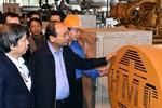 Thủ tướng thị sát công nghệ điện rác đầu tiên Việt Nam