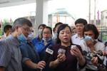 Bộ trưởng Y tế kiểm tra chống sốt xuất huyết, trấn an người dân