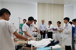 Bộ Y tế kiểm tra công tác y tế phục vụ Tuần lễ Cấp cao APEC 2017