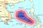 Siêu bão Bopha có thể đổ bộ vào Đà Nẵng - Vũng Tàu