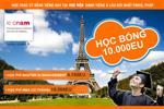 Cơ hội giành học bổng 10.000 EUR du học Pháp