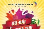 MegaStar giảm 20% giá vé trên toàn hệ thống rạp