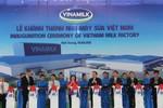 """Vinamilk khánh thành """"siêu"""" nhà máy sữa nước tại Bình Dương"""