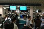 Nhiều chuyến bay của Vietnam Airlines bị chậm do sự cố máy tính