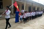 Học sinh miền núi Quảng Bình háo hức dự lễ khai giảng