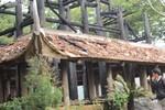 Cháy lớn thiêu rụi đền thờ Trung túc Vương Lê Lai