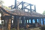 Cận cảnh khu đền thờ Trung túc Vương Lê Lai bị cháy rụi sau 1 đêm