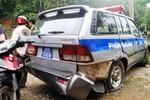 Đã xác định được thủ phạm lái xe tông Trung tá CSGT gẫy răng