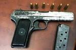 Bắt được ba nghi can trộm 6 khẩu súng K54