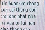 Nguyên phó Trưởng Công an thành phố Thanh Hóa bị dọa giết