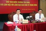 """Ban Kinh tế Trung ương đã thực hiện 33 đề án lớn và """"hết sức đáng quý"""""""