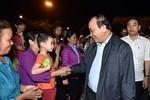 Thủ tướng Nguyễn Xuân Phúc dự ngày hội đại đoàn kết tại Hòa Bình