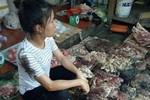 Khởi tố vụ án, bắt khẩn cấp đối tượng hắt dầu luyn vào thịt lợn