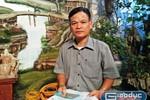 Đòi được danh dự, thầy Lê Bá Chiến gửi lời cảm ơn Báo Điện tử Giáo dục Việt Nam