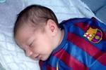'Messi con' được ký hợp đồng khi mới 3 ngày tuổi