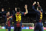 Hiệp 2 đại chiến Barca - Milan: Villa, Alba kết liễu Rossoneri