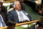 Quan chức ngủ gật khi dự họp Đại hội đồng Liên Hợp Quốc