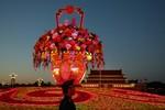 Trung Quốc trang hoàng Thiên An Môn đón Quốc khánh