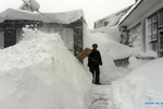 Tuyết rơi dày kỷ lục tấn công Bắc Kinh, Trung Quốc