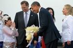 Dân Myanmar háo hức đón Tổng thống Barack Obama