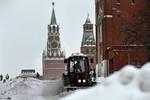 Moscow đón trận tuyết rơi kỷ lục trong 50 năm qua