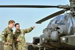 Hoàng tử Harry có thể lái Apache tham chiến tại Syria