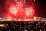 Bình Nhưỡng bắn pháo hoa mừng năm mới