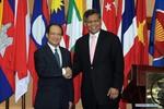 Ảnh: ông Lê Lương Minh tại lễ nhậm chức Tổng thư ký ASEAN