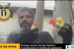 Lộ video tố quân nổi dậy Syria được hỗ trợ vũ khí hóa học