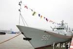 Hải quân Trung Quốc biên chế tàu hộ vệ lớp 056
