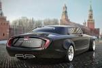Cận cảnh các mẫu thiết kế limo dành riêng cho Tổng thống Putin