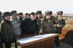 Hình ảnh Kim Jong-un trực tiếp chỉ huy, giám sát các cuộc tập trận