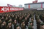 Triều Tiên tổ chức mít-tinh phản đối Mỹ-Hàn tập trận