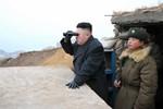 Kim Jong-un ra sát nơi Mỹ-Hàn tập trận, dọa cho nổ tung căn cứ HQ