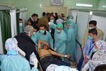 Phiến quân Syria bắn tên lửa hóa học giết chết 15 người