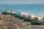 Triều Tiên lại tổ chức tập trận pháo cảnh báo Mỹ-Hàn