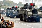 Triều Tiên có thể phóng đồng thời tên lửa Musudan, Rodong và Scud