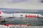 Máy bay chở khách Ấn Độ lao xuống biển khi cố hạ cánh
