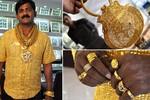 Video: Đại gia Ấn Độ khoe áo sơ mi bằng vàng ròng