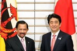 Nhật kêu gọi Brunei cùng kiềm chế tham vọng bá quyền của Trung Quốc