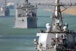 Mỹ điều thêm tàu với vùng Vịnh giám sát Iran