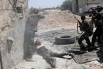 Quân đội Syria tấn công phiến quân tại 5 ngôi làng giáp Thổ Nhĩ Kỳ