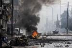 Quân đội Syria đánh bật phiến quân ra khỏi trại tị nạn gần Damascus