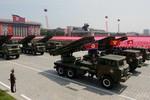Video: Dàn vũ khí chiến lược của Triều Tiên trong lễ diễu binh 27/7