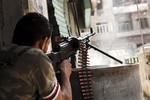 Phiến Syria chiếm được kho vũ khí của phe Assad gần Damascus