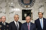Bộ 3 quyền lực Mỹ thuyết phục Quốc hội để Obama tấn công Syria