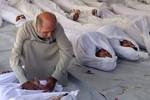 Đầu đạn tên lửa tấn công ngoại ô Damascus 21/8 mang 50 lít chất độc