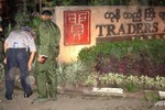 Nổ bom tại khách sạn cao cấp thuộc chuỗi Shangri-La, Myanmar