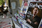 Tạp chí Forbes có thể bị bán với giá 400 triệu USD